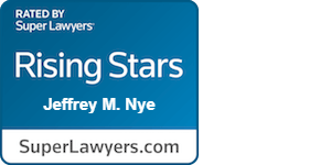 Super Lawyers Rising Stars - Jeffery M. Nye