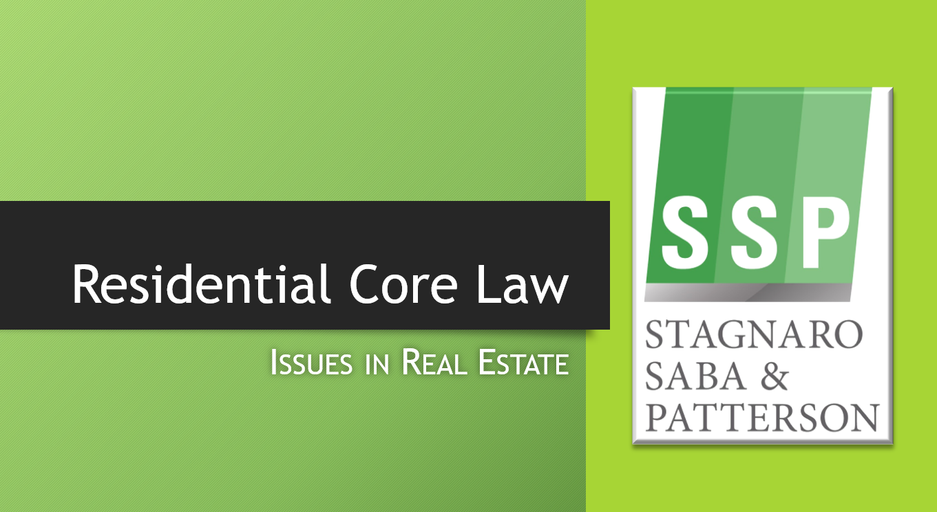 Residential Core Law